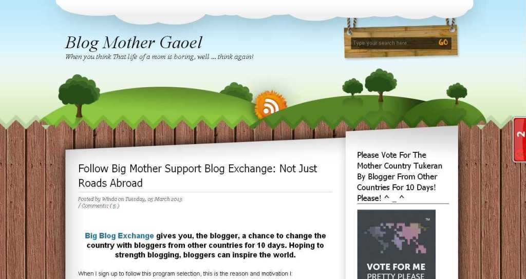 Blog Mother Gaoel
