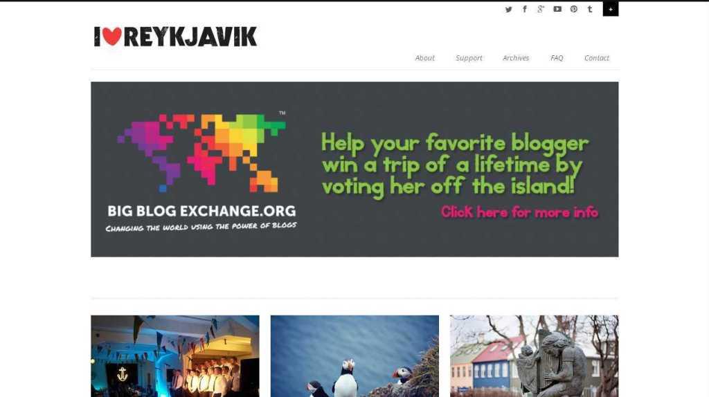 - I heart Reykjavík