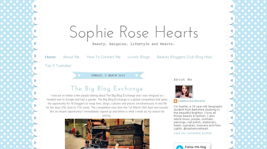 Sophie Rose Hearts