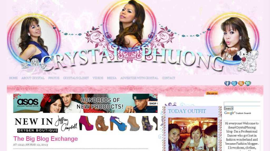 The Big Blog Exchange - iheartCrystal Phuong- Your True Fashion BFF