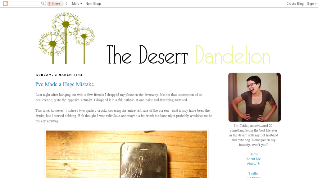 The Desert Dandelion