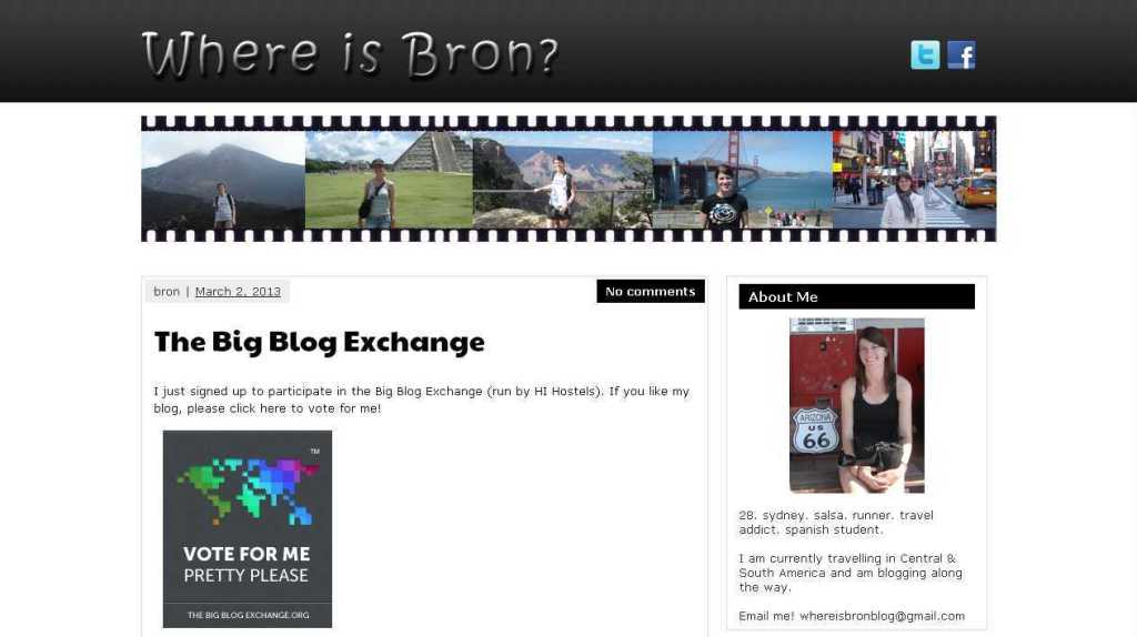 Where Is Bron- » The Big Blog Exchange