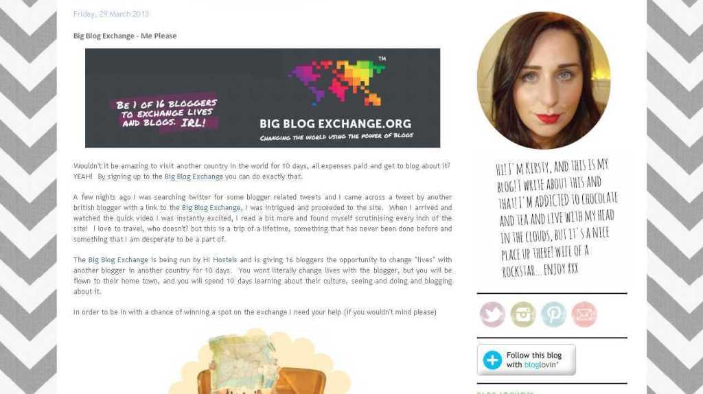Rockit Style- Big Blog Exchange - Me Please
