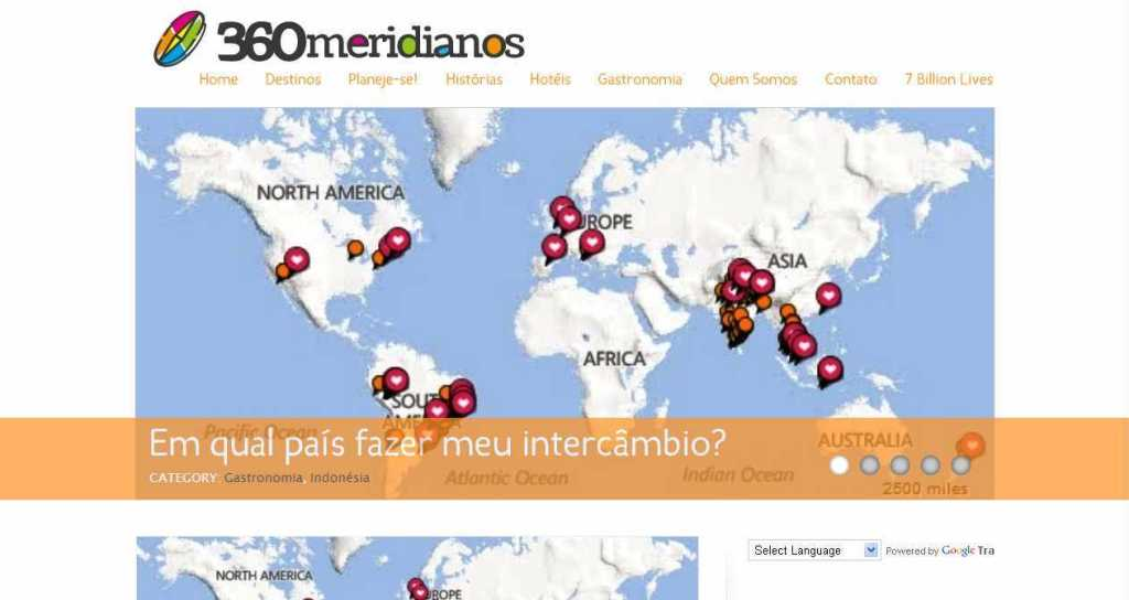 360meridianos - Destinos exóticos, mochileiros, viagem de volta ao mundo, intercâmbio.