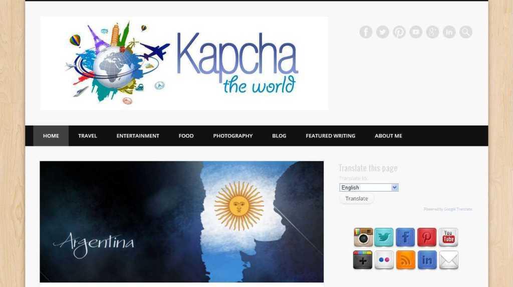 Kapcha The World, International Travel, Photography, Culture and Food Blog