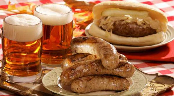 Sausages-and-Bier