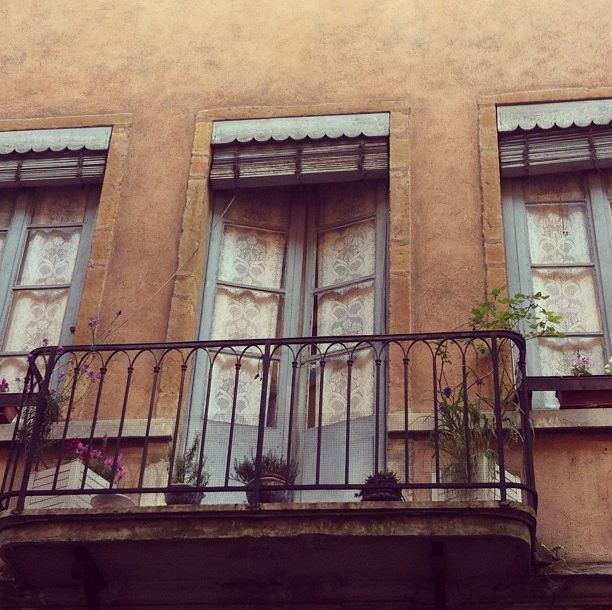 balcony in lyon