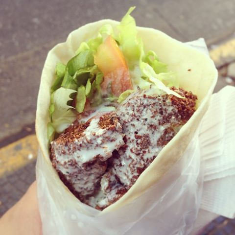 Falafel for lunch
