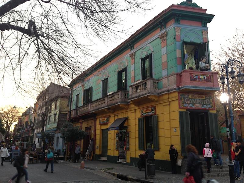 Restaurants and cafes in La Boca