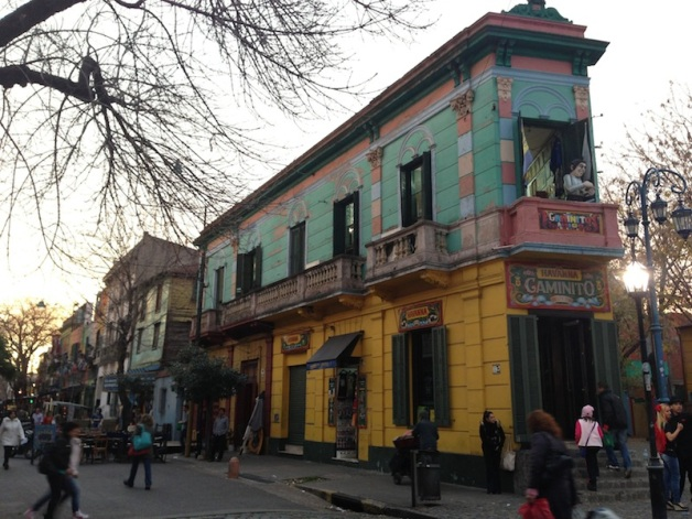 Restaurants and cafes in La Boca