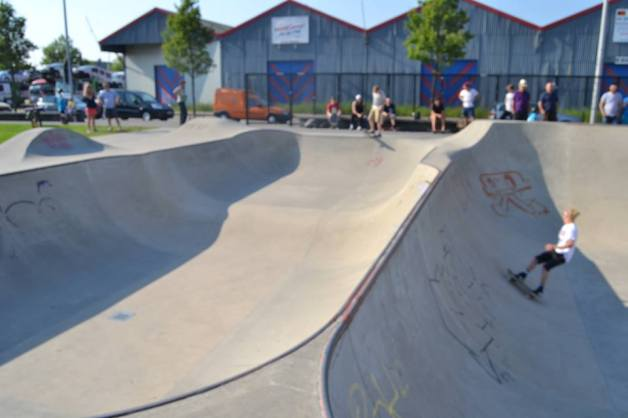 Skate park. Made my day