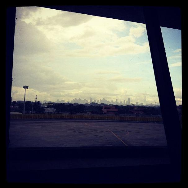 skyline of metro Manila