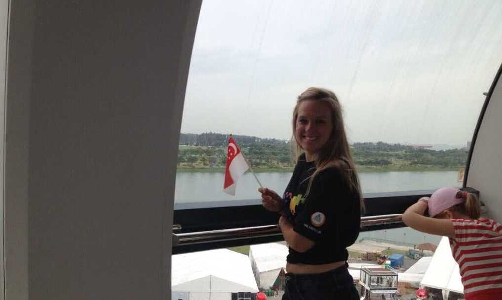 Twitter - hostellingspore- @challengesophie in the capsule ...