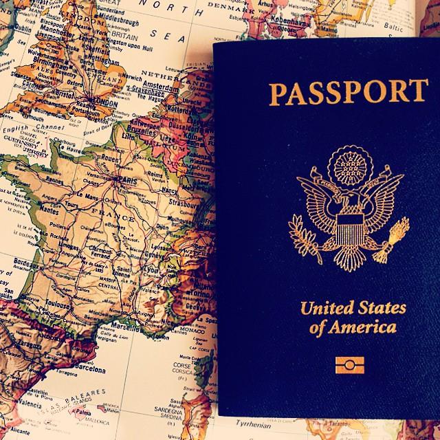 27 October Passport and Map taralynn