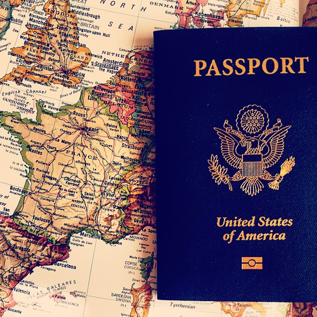 27 October Passport and Map taralynn