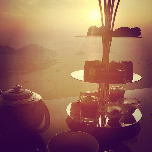 Afternoon tea - original photo