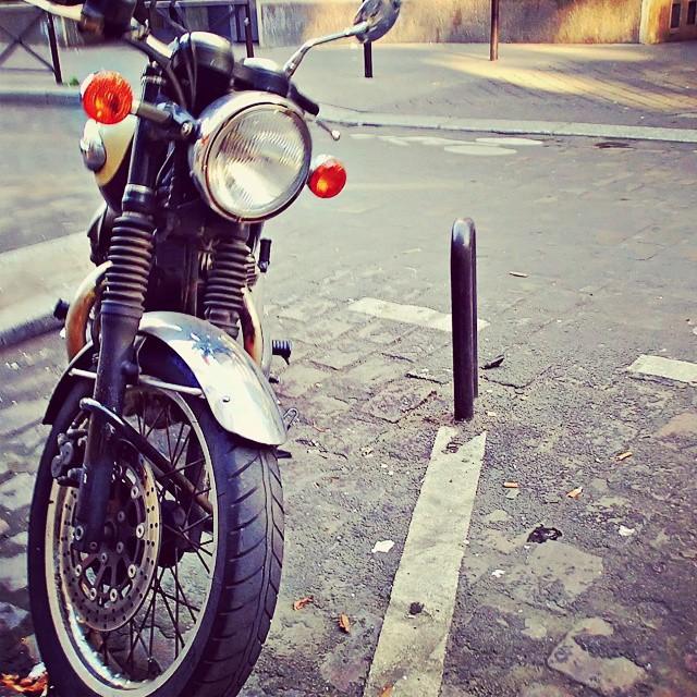 Motorbike in France