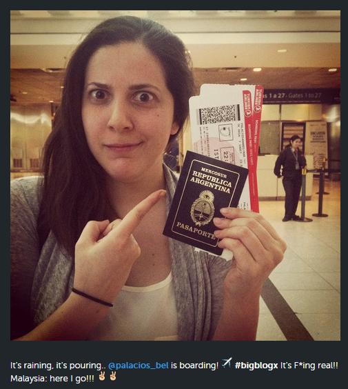 passport selfie
