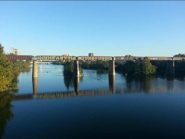 Austin riverbanks
