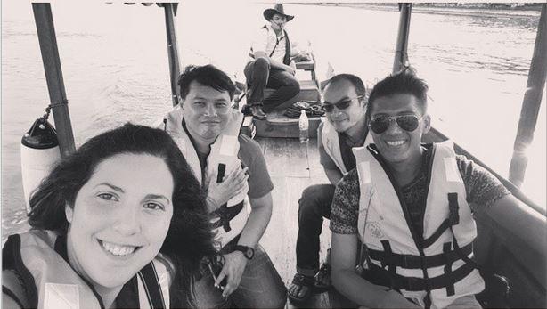 boat ride in putrajaya