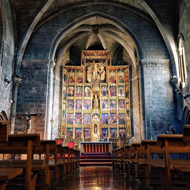 Church inside a castle, Pamplona