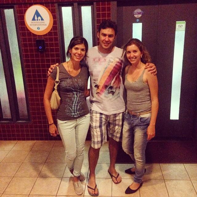 Friends in hostel 7 Brasilia