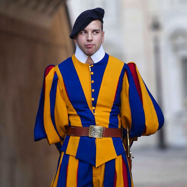 Guard at the Vatican