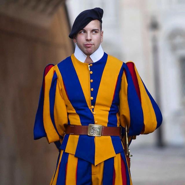 Guard at the Vatican