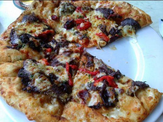 Kangaroo pizza