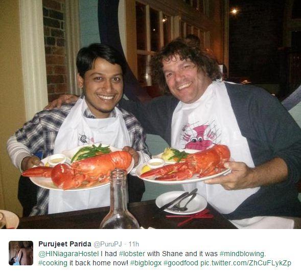 lobster at niagara