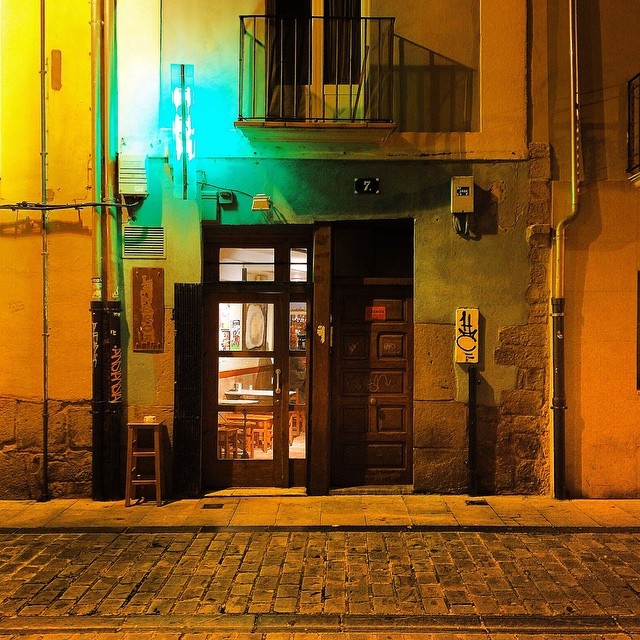 Lonely streets of Pamplona