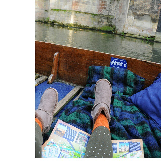 Punting in Cambs