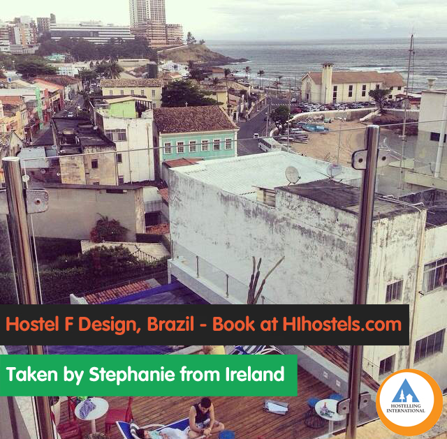 Stephanie, Brazil, hostel F design salvador