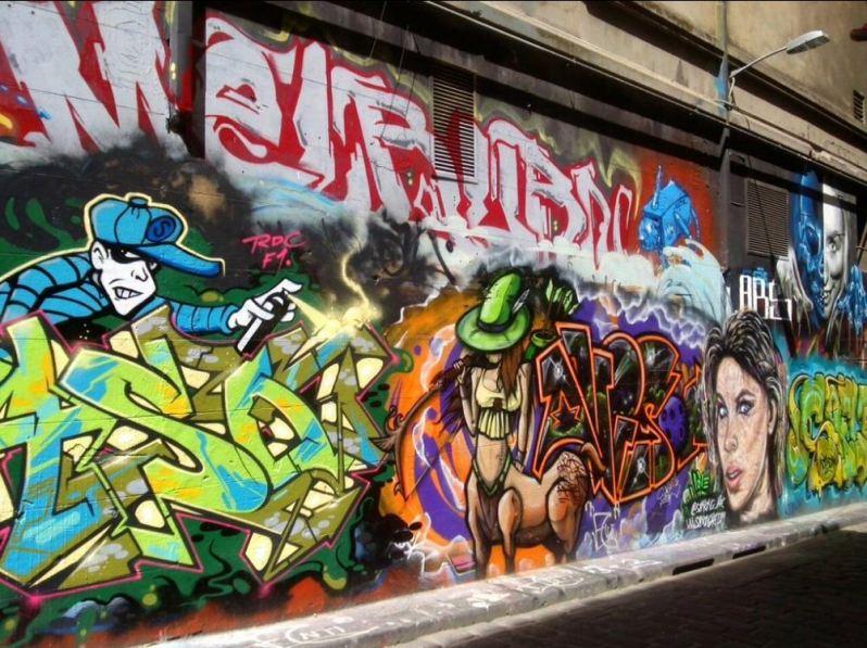 Street art in Melbourne