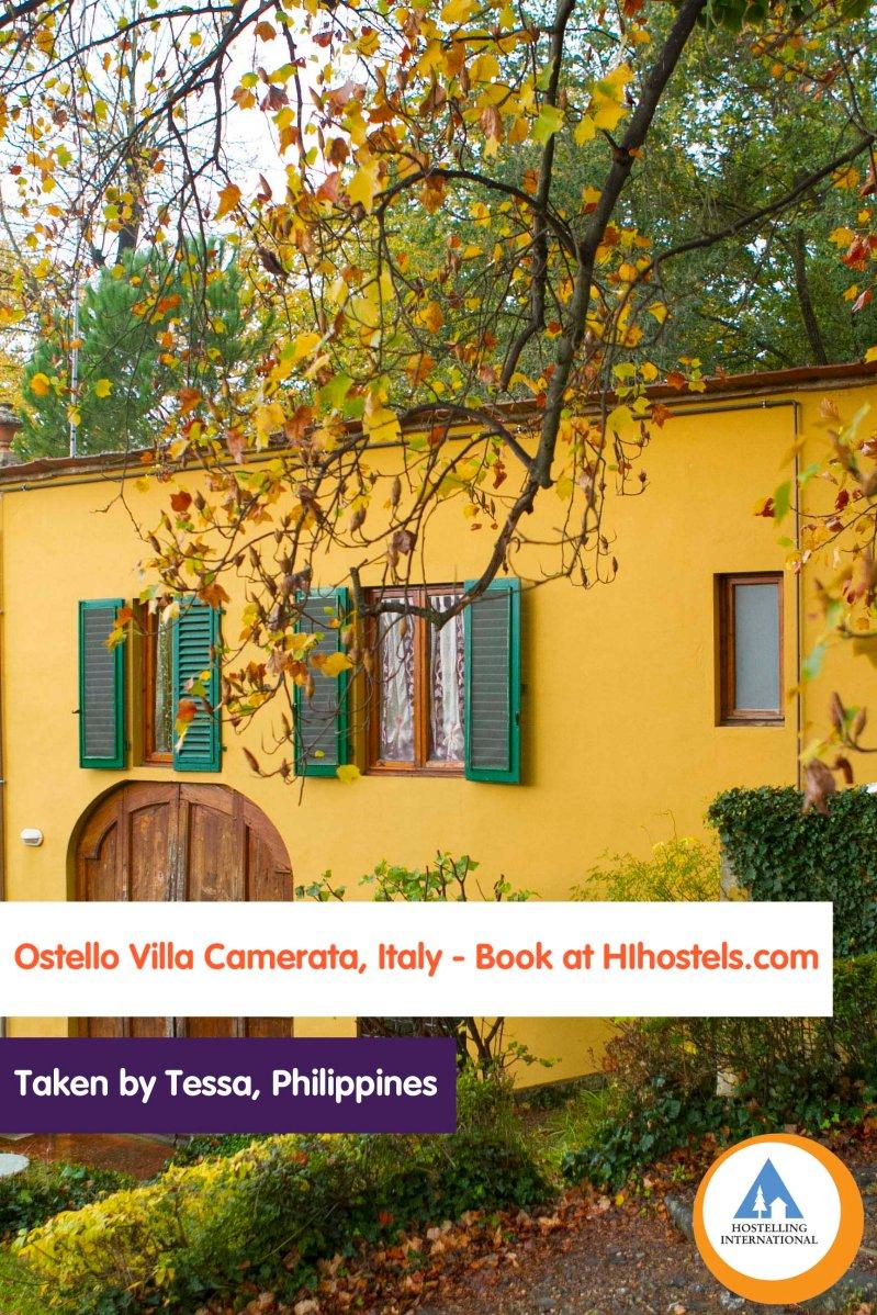 Tessa - Ostello Villa Camerata Italy