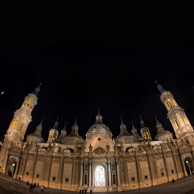 The Basilica, cathedral of our lady pillar zaragoza