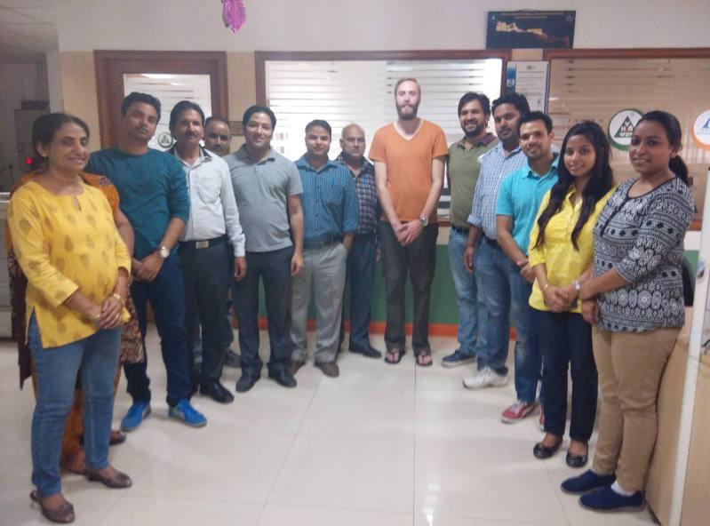 With YHA India full team